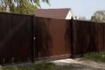 Забор Премиум RAL 8017 шоколад